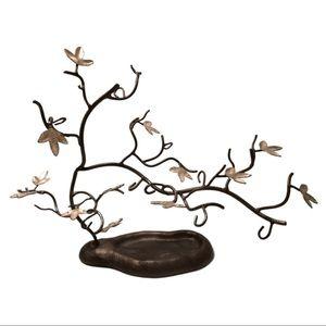 Metal tree Jewelry holder/display